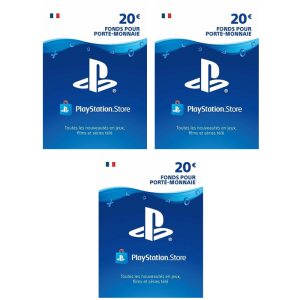 visuel produit cartes PSN 20 euros