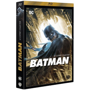 Batman Blu Ray Collector 6 films visuel produit