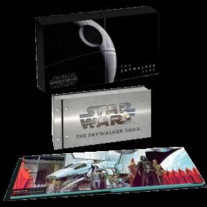 INTeGRALE STAR WARS 9 FILMS EN BLU RAY 4K 2D visuel produit