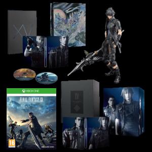 final fantasy XV xbox one collector ultimate visuel produit