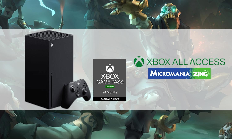 slider xbox all access Micromania xbox series x disponible