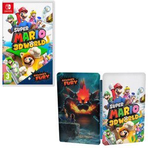 super mario 3D world steelbook offert visuel produit