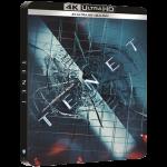 tenet blu ray 4K steelbook visuel produit