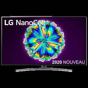 tv 4K LG Nanocell visuel produit
