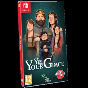 yes your grace switch visuel provisoire