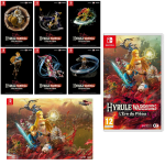 cartes poster zelda hyrule warriors switch visuel produit