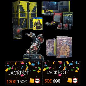 cyberpunk collector ps4 cartes jackpot fnac darty