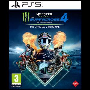 monster energy supercross 4 ps5 visuel produit