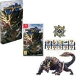 monster hunter rise collector switch steelbook fnac visuel produit