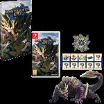 monster hunter rise collector switch steelbook fnac visuel produit