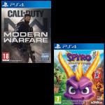 pack cod modern warfare spyro trilogy ps4