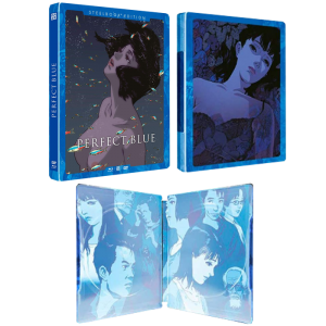 perfect blue blu ray steelbook visuel produit