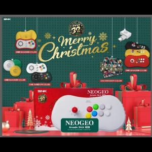 Neo Geo Arcade Stick Pro Christmas Edition visuel produit