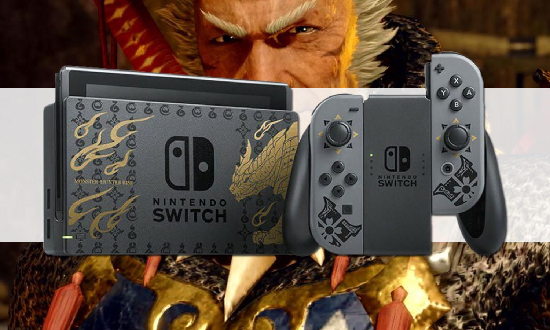 SLIDER nintendo switch edition monster hunter rise v1