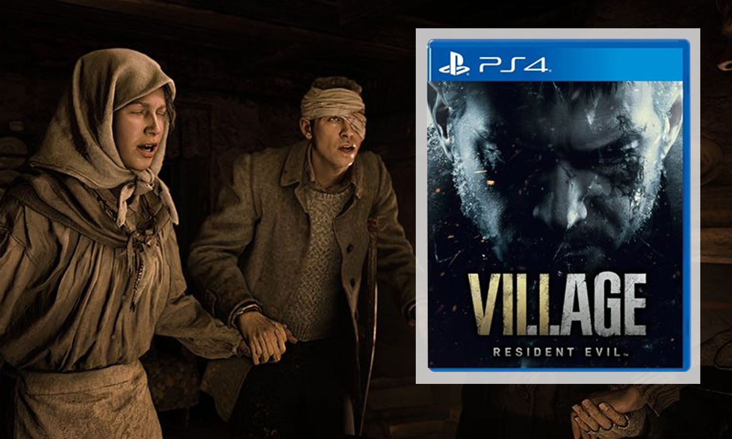 SLIDER resident evil 8 village ps4 v1