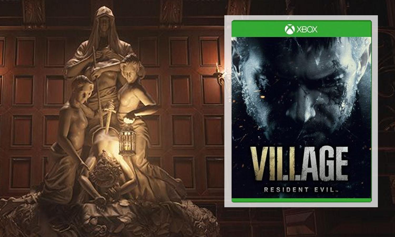 SLIDER resident evil 8 village xbox one v