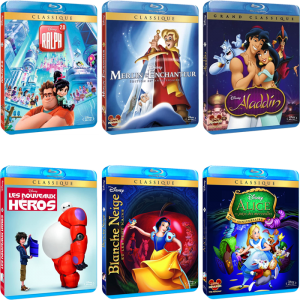 5 films blu ray disney en promo 12 02 21