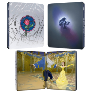 blu ray 4K steelbook belle et la bête dessin animé visuel produit