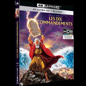 Les Dix Commandements Blu Ray 4K