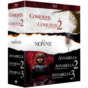coffret annabelle conjuring blu ray