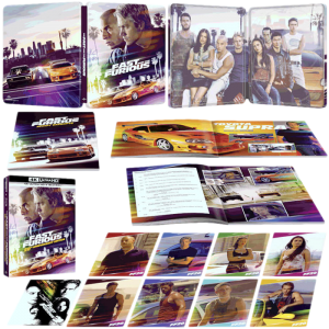 fast and furious steelbook 4k collector visuel produit