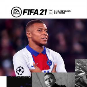 fifa 21 champions ps4 dematerialise visuel produit