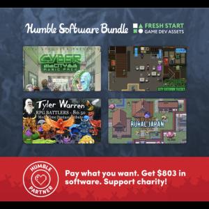 pack createur de jeux humble bundle visuel produit