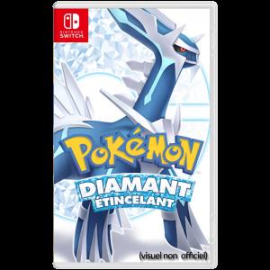 pokemon diamant etincelant visuel produit non officiel provisoire switch