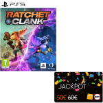 ratchet and clank rift apart ps5 visuel produit carte jackpot fnac