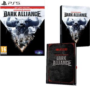 dark alliance dungeons and dragons steelbook edition ps5 visuel produit
