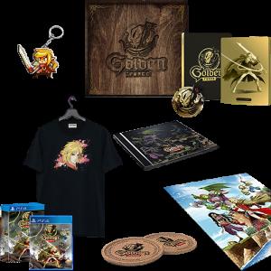 golden force mercenary edition collector ps4 visuel produit