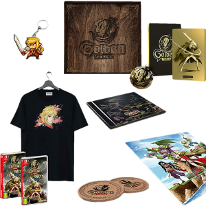 golden force mercenary edition collector switch visuel produit