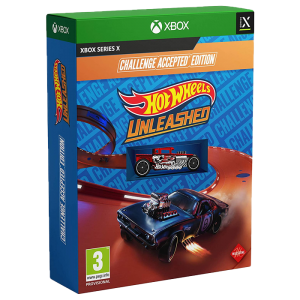 hot wheels unleashed challenge edition xbox series x visuel produit