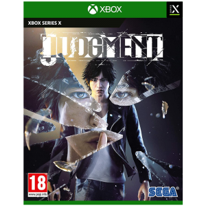 judgment xbox series x visuel produit