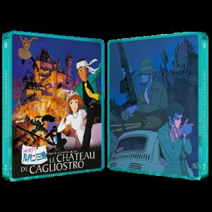 le chateau de cagliostro blu ray steelbook visuel produit