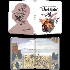 les oiseaux blu ray 4K steelbook US visuel produit
