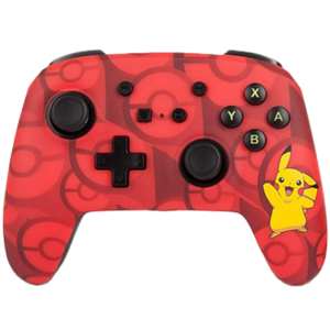 manette filaire pikachu pokémon pour switch
