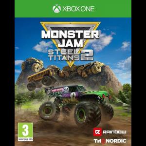 monster jam steel titans 2 xbox one visuel produit