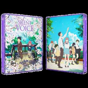 silent voice blu ray steelbook visuel produit