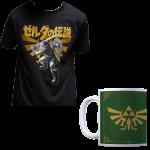 t shirt zelda avec mug zelda offre zavvià 9,99 euros