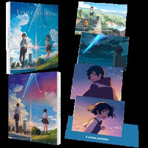 your name blu ray 4K edition limitée all the anime visuel produit
