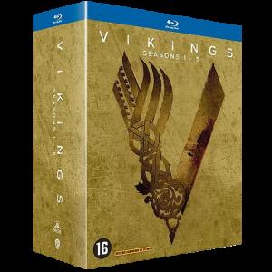 Coffret Blu Ray Vikings Saisons 1 a 5 visuel produit