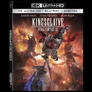 Final Fantasy KingsGlaive Blu Ray 4K visuel produit