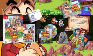 SLIDER alex kidd in miracle world DX signature edition switch