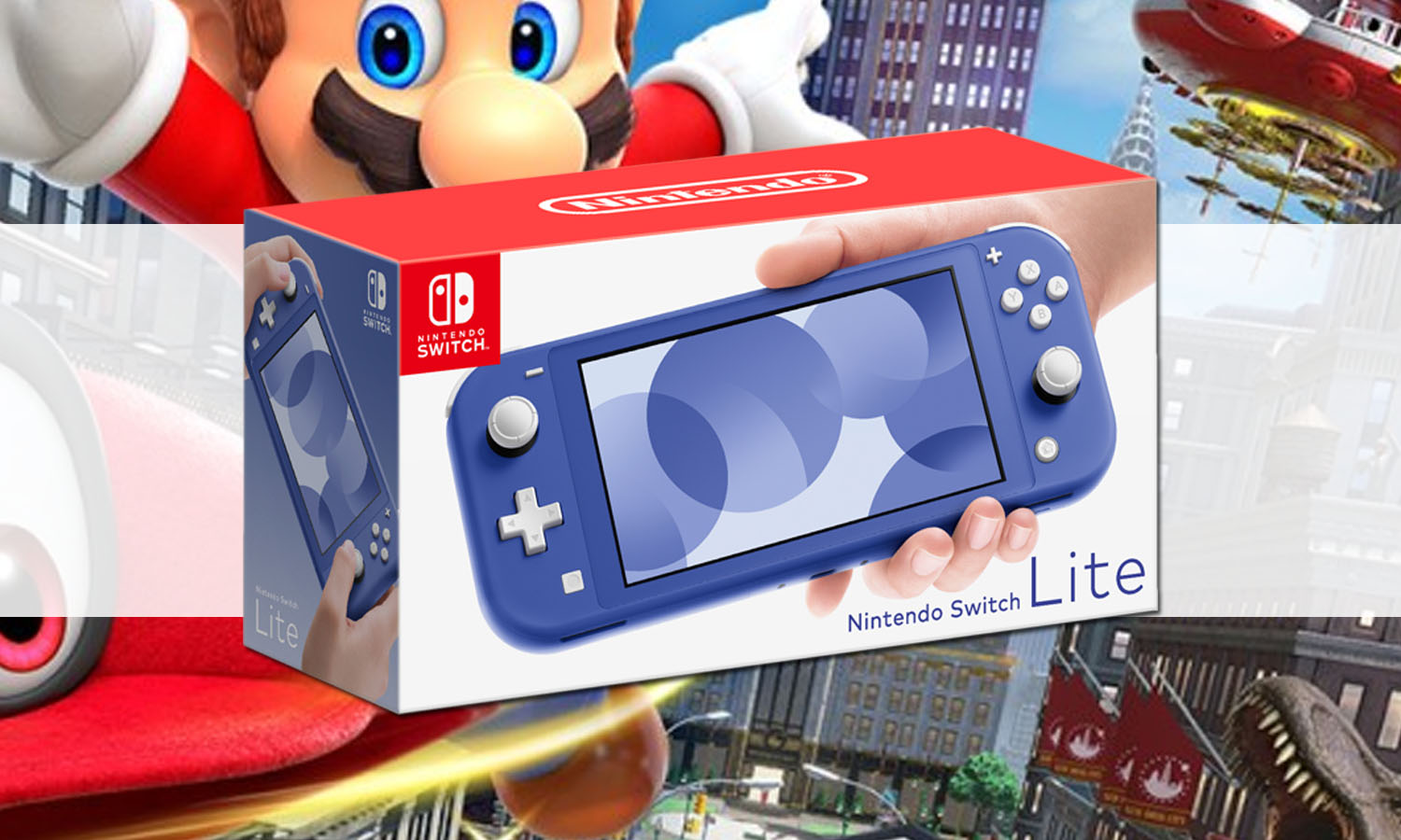 SLIDER nintendo switch lite bleu v2