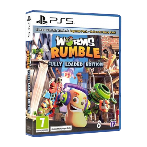 Worms Rumble Fully Loaded PS5 visuel produit