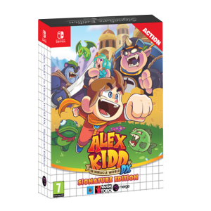 alex kidd miracle world signature switch visuel produit
