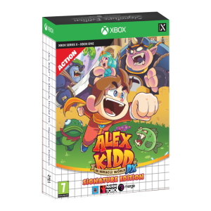 alex kidd miracle world signature xbox visuel produit