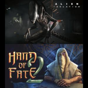alien isolation hand of fate 2 pc demat epic games store visuel produit