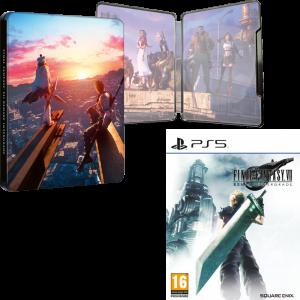 ff7 remake intergrade steelbook ps5 visuel produit